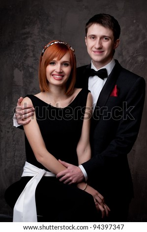 Beautiful young couple.
