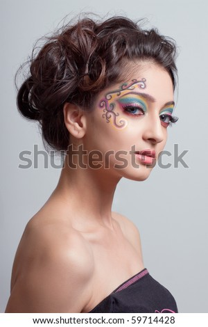 fantasy makeup gallery. how to apply fantasy makeup.