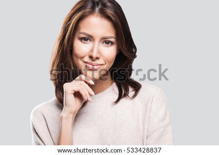 Beautiful young woman portrait #533428837