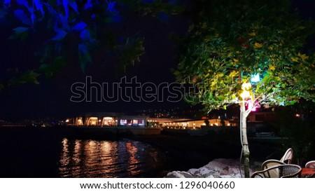 beautifull night in akcaabat  #1296040660