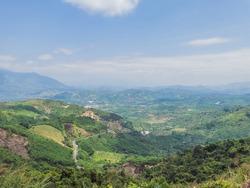 Beautifull Valley nature in Dalat city Vietnam