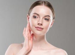 Beautifulwoman healthy clean skin beauty portrait