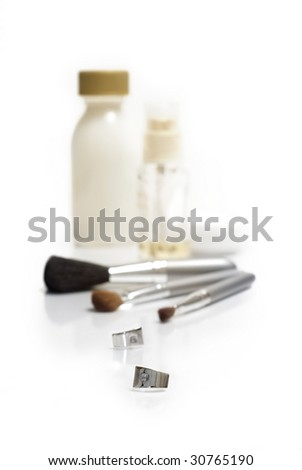 Beauty Accessories - stock photo