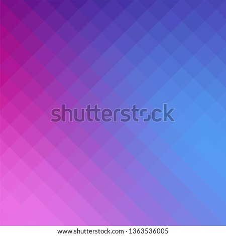 Beauty and fashion concept gradient art background with vibrant purple and dark blue color tone.