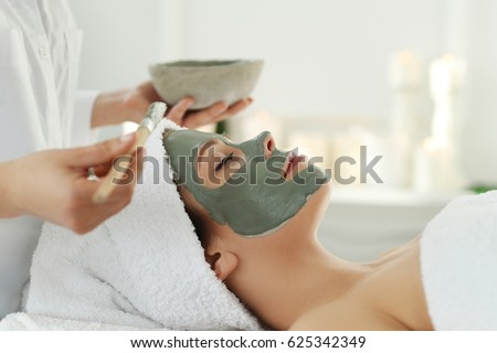 Beauty and healthcare. Woman in spa salon #625342349