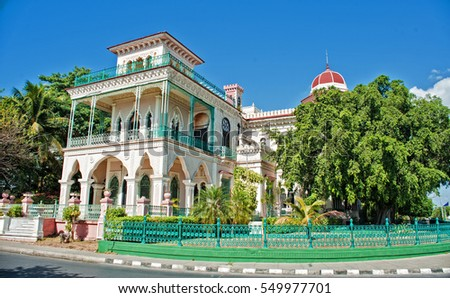 beauty architecture house in cienfuegos