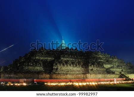 beauty borobudur