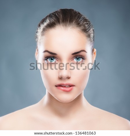 Beauty female portrait