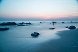 Beauty of the sea at dawn
