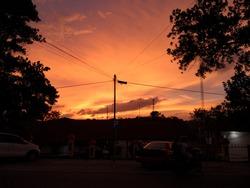 Beauty of the sunset at Tanjungpinang City. Taken at Tanjungpinang City on 24 September 2020.