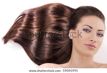 Lifestyle - Pagina 5 Stock-photo-beauty-portrait-of-a-young-pretty-brunette-with-long-wave-hair-laying-down-on-floor-smiling-59045995