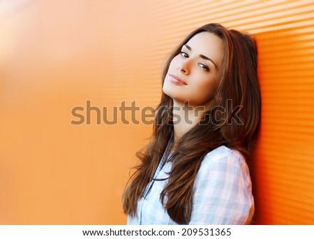 beauty portrait pretty woman in ...