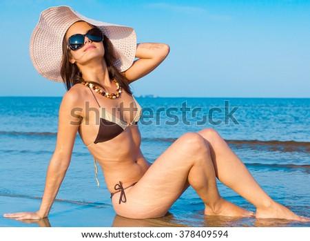 Beauty Relaxing Female  #378409594