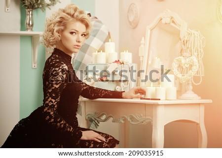 beauty rich luxury woman like...