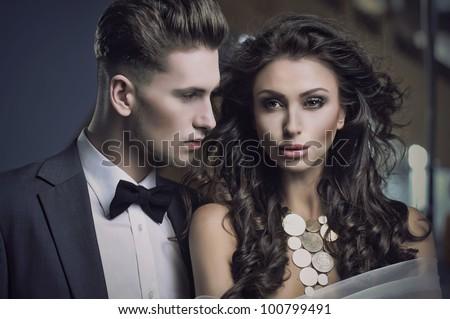 Beauty sexy couple