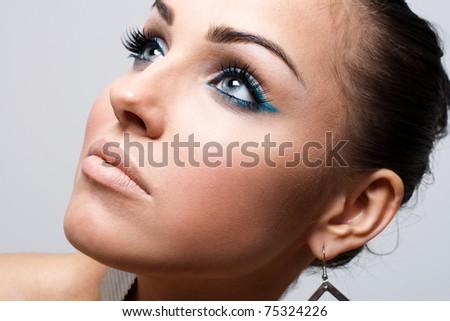 Beauty shot of a beautiful woman