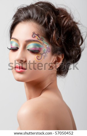 girl quotes about beauty. fantasy makeup designs. girl