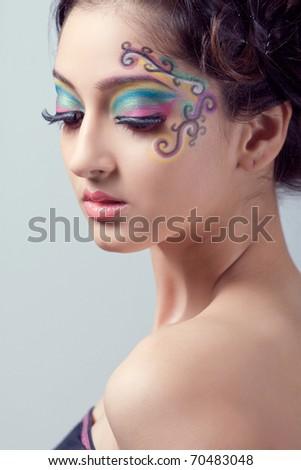 fantasy stage makeup. fantasy stage makeup. fantasy