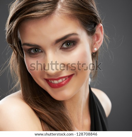 Beauty smiling woman portrait