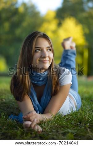 beauty teenage outdoors