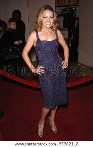 BECKI NEWTON at the 2006 Family TV Awards at the Beverly Hilton Hotel. November 29, 2006  Los Angeles, CA Picture: Paul Smith / Featureflash
