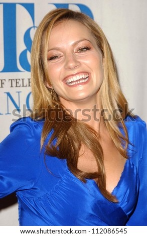 "Becki Newton at the 24th Annual William S. Paley Television Festival Featuring ""Ugly Betty"" presented by the Museum of Television and Radio. DGA, Beverly Hills, CA. 03-12-07"