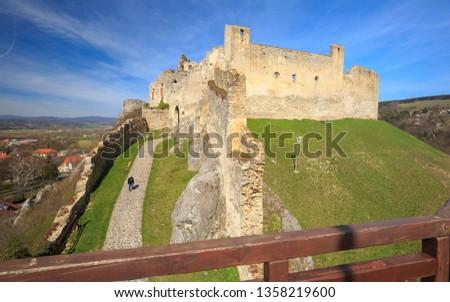 Beckov Castle in Slovakia after renovation
