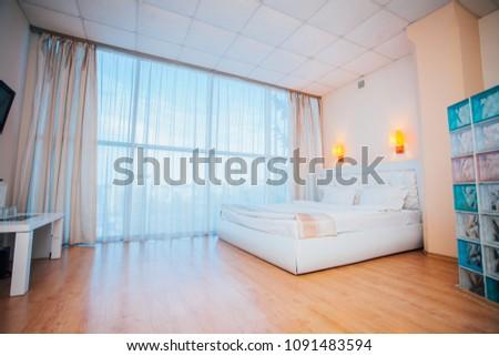 bed room interior #1091483594