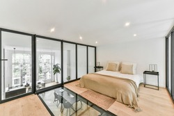 Bed room of house in unusual design