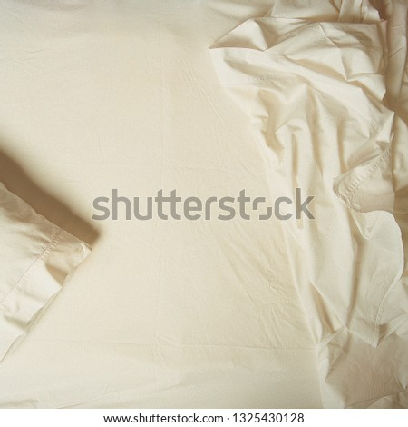 Bed sheets and pillow