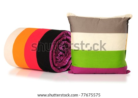 Bedding. Clipping path