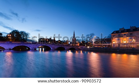 Bedford at night