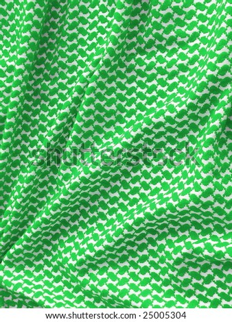 Bedouin Keffiyeh pattern closeup. More of this motif in my port