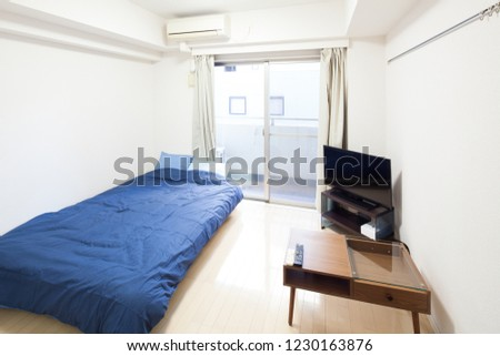 bedroom for guest #1230163876