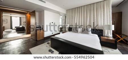 bedroom hotel apartment interior
