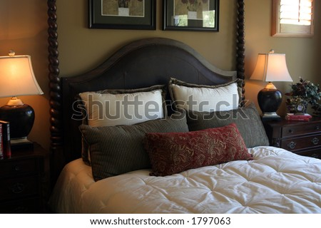 Bedroom interior #1
