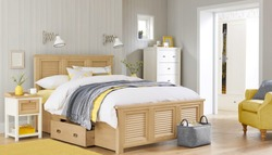 Bedroom interior. Comfortable bedroom with nice decoration. Modern bedroom in luxury apartment.