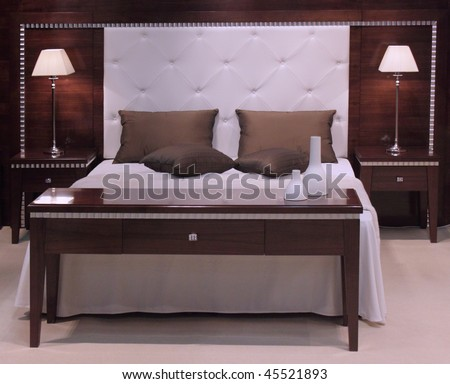 Bedroom Interior Design. Stock Photo 45521893 : Shutter