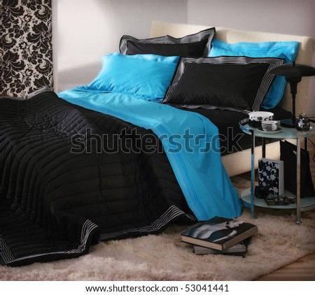 Bedroom Interiors Stock Photo 53041441 : Shutterstock