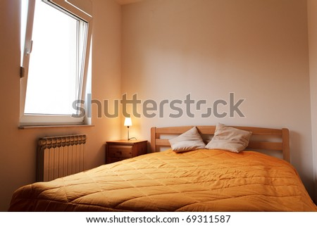 Bedroom - morning shot