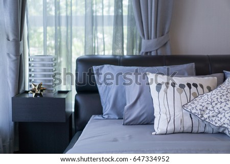 Bedroom with decoration #647334952