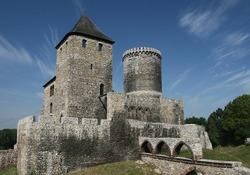 Bedzin castle - old landmark of Upper Silesia region of Poland