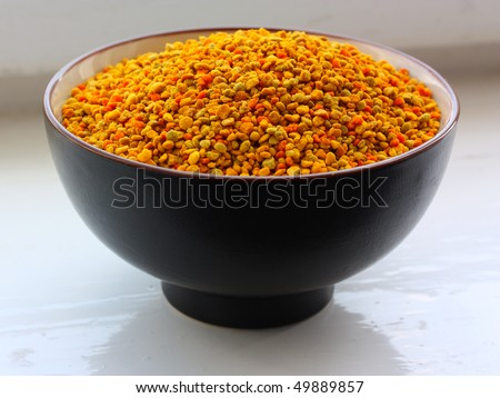 bee pollen - stock photo