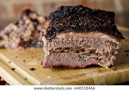 Beef Brisket Classic Texas Smoked BBQ