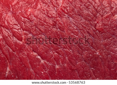 Beef raw red meat closeup background