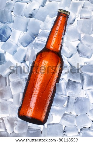 Beer and ice around