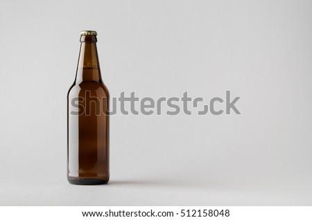 Beer Bottle Mock-Up #512158048