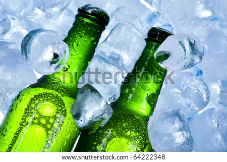 Beer collection, Cold beer bottle