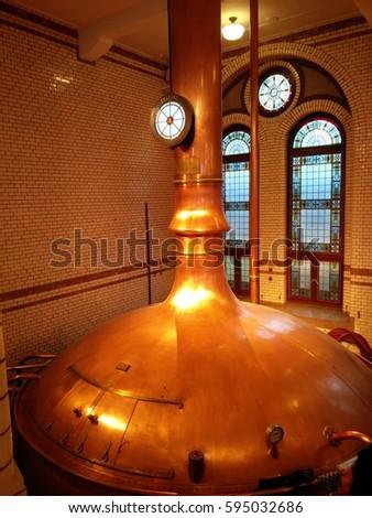 Beer Kettle Stock photo ©