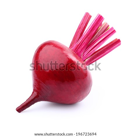 Beet in closeup
